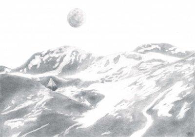 Mont lunaire